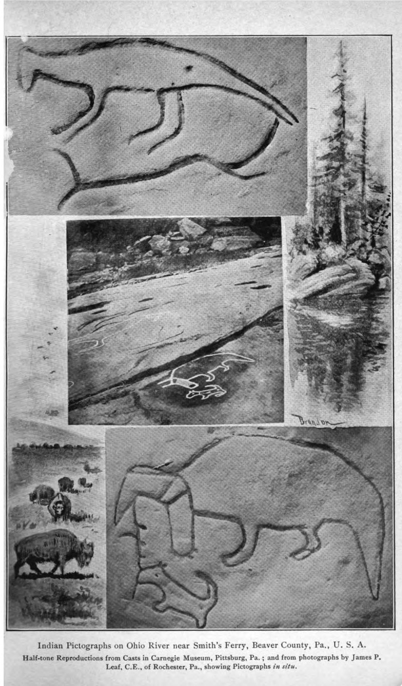 Smith's Ferry, Pa. Pictographs